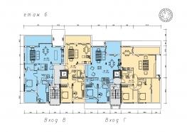 Етаж 6, кота +14,50