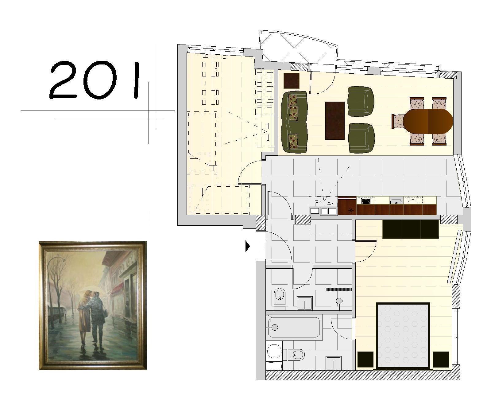 Апартамент 201