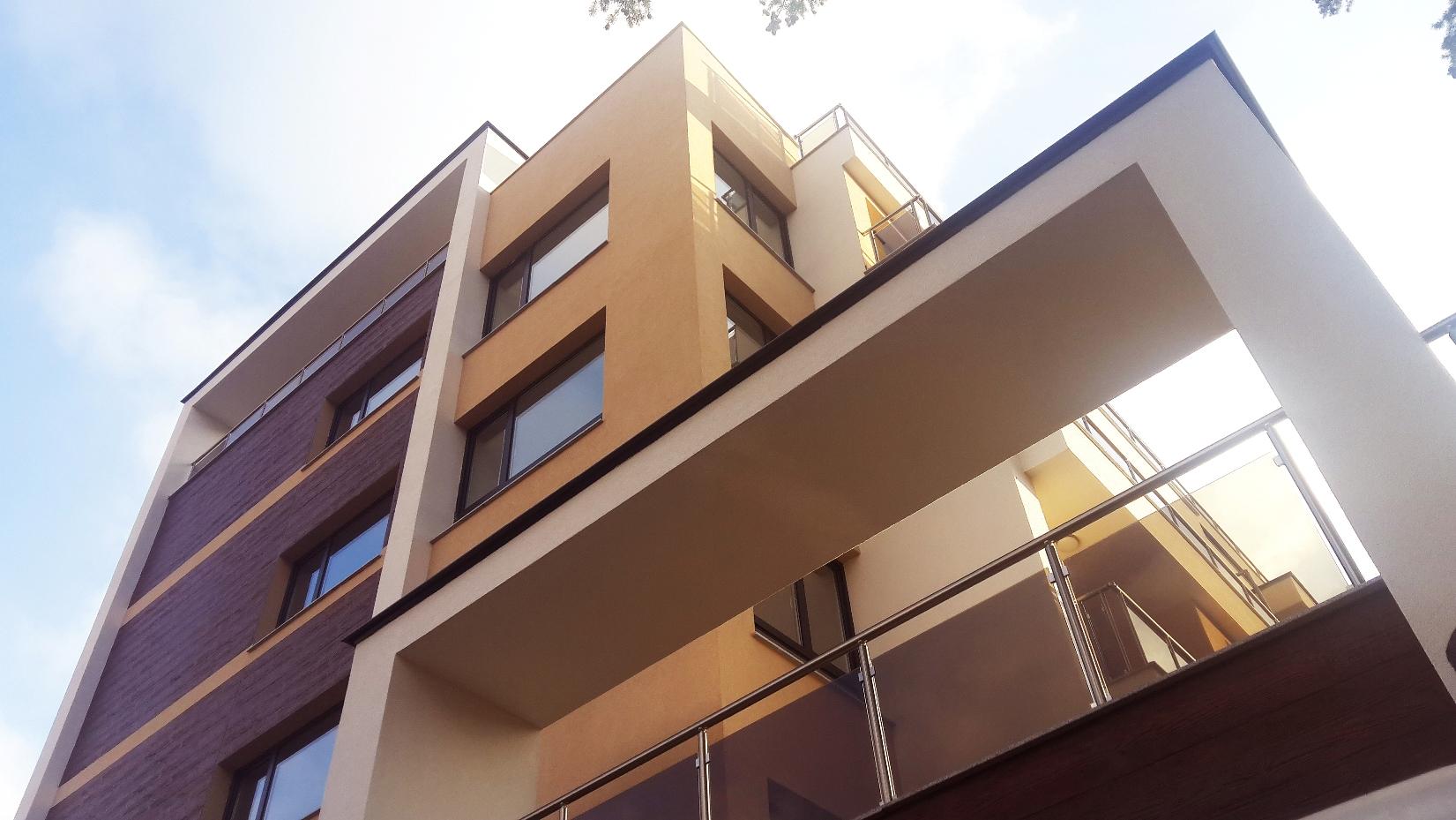 Residental building zagrebska for Builders to build a house